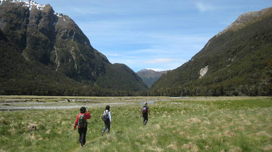 Routeburn Guided Walking Tour - Full Day - For 3