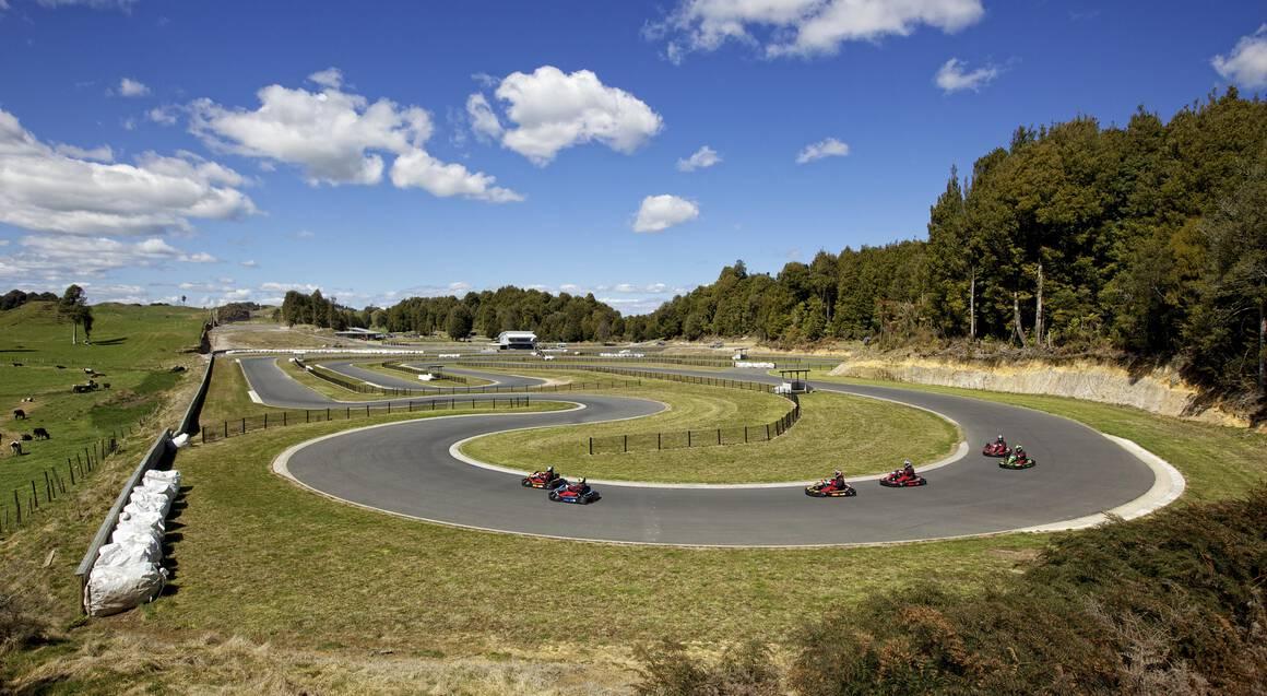Outdoor Kart Racing Experience