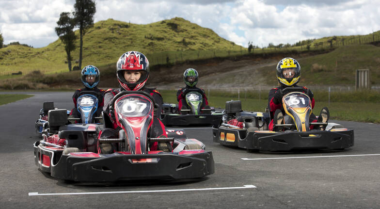4WD Safari, Monster 4X4 Thrill Ride and Raceline Karting