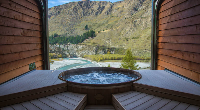 Daytime Hot Pools Private Bathing - 60 Minutes - For 2