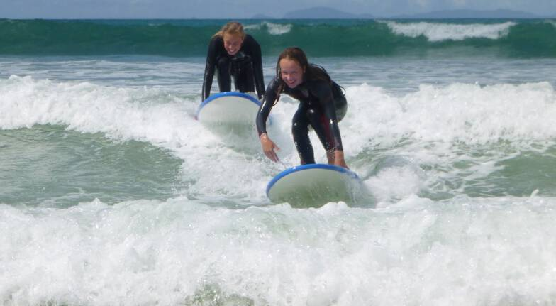 Private Surfing Lesson on the Matakana Coast
