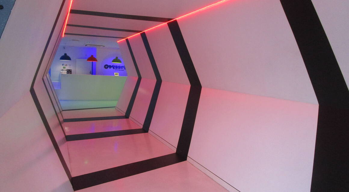 Odyssey Sensory Maze - 1 Hr Unlimited Re-Entry with Goggles