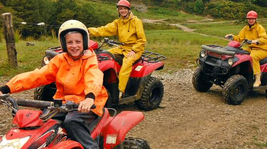 West Coast Bush and Bog Quad Biking Adventure - 2 Hours
