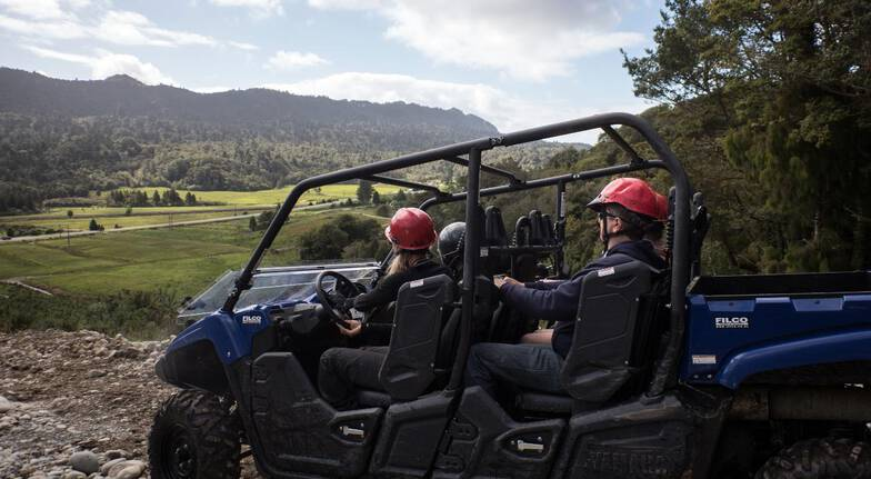 West Coast Guided Buggy Tour