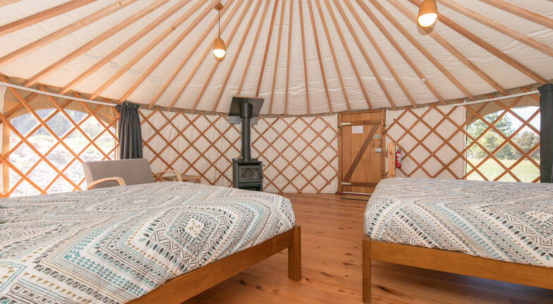 Overnight 6m Yurt Glamping in Wanaka