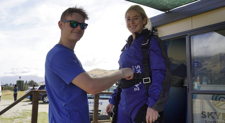 Glenorchy Tandem Skydive with Queenstown Transfers - 12000ft