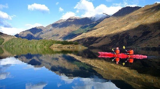 Moke Lake Self Guided Kayak Tour - 3.5 Hours