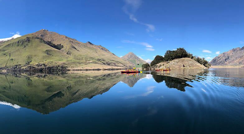 Moke Lake Self Guided Kayak Tour  35 Hours