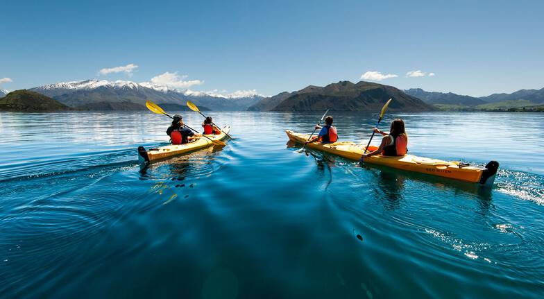 Guided Kayaking on Lake Wanaka - Half Day
