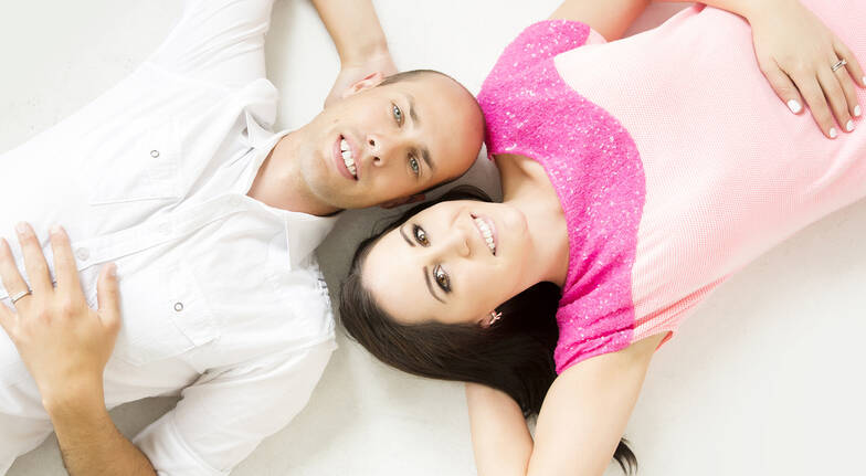 Couple's Photo Shoot with Makeover