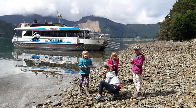 Marlborough Sounds Mail Boat Cruise and Tour - Full Day