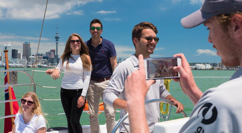 Sailing Yacht Cruise on Auckland Harbour with Dinner