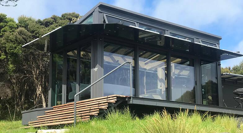 1 Night Luxury Glass Eco Cabin Stay  Korimako  For 2