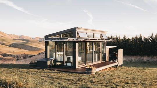1 Night Luxury Glass Eco Cabin Stay - Greystone - For 2
