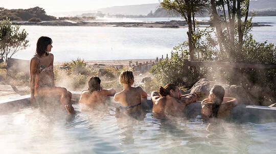 Polynesian Spa Pavillion Pools Entry