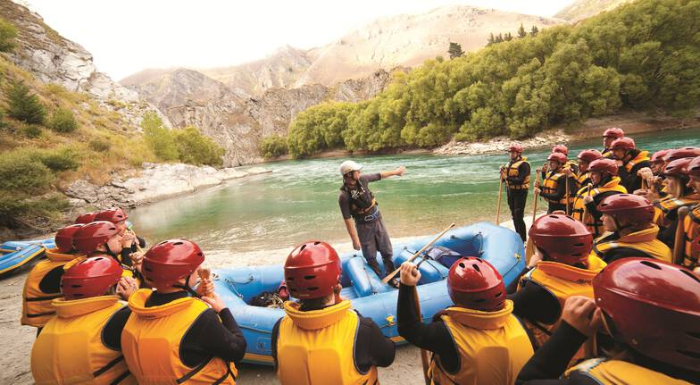 Whitewater Rafting on the Kawarau River