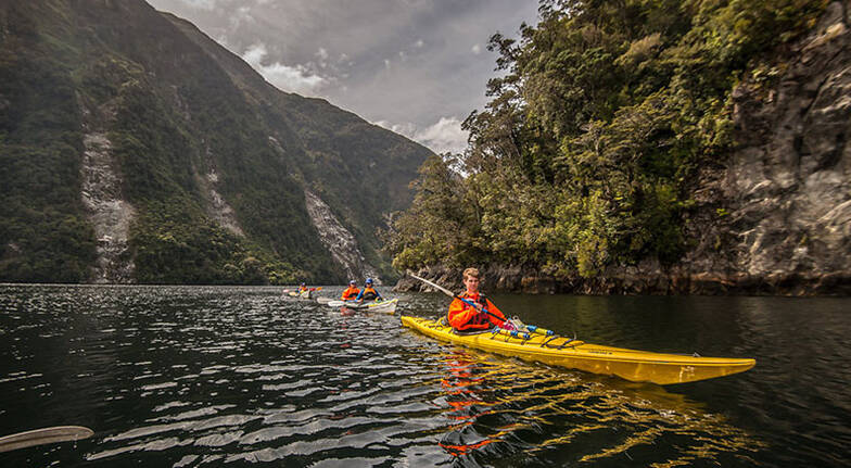 Overnight Guided Kayaking Tour on Doubtful Sound
