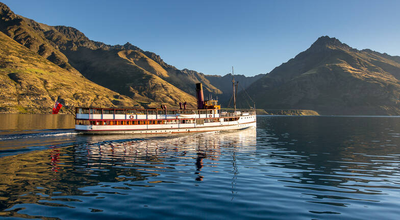 Lake Wakatipu Cruise and Gourmet BBQ Dinner