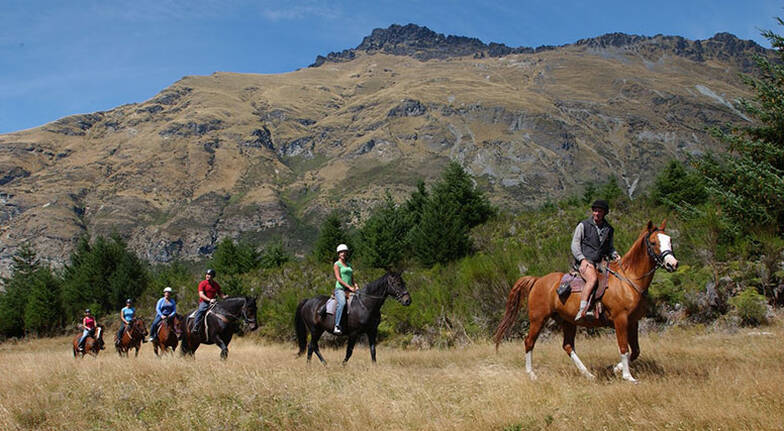 Walter Peak Horse Trail Ride with Cruise - 3.5 Hours