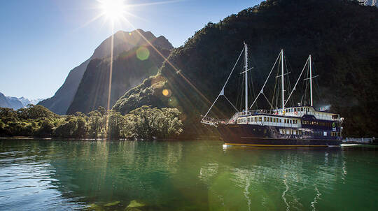 Milford Sound Overnight Cruise with Dinner - For 2