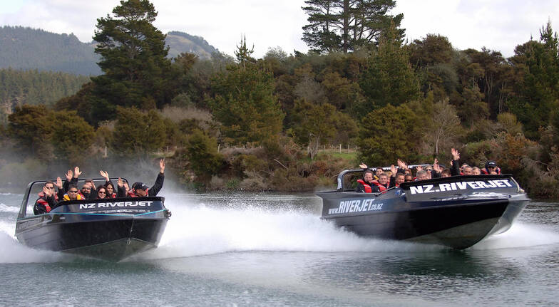 The Squeeze Jet Boat Ride and Geothermal Adventure