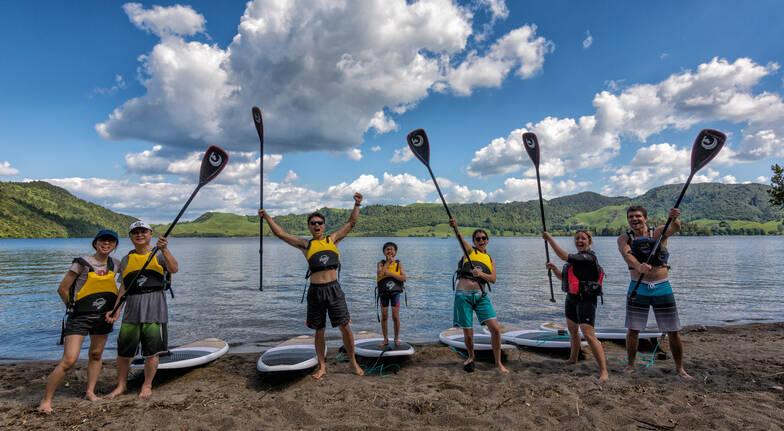 Rotorua Stand-Up Paddle Board Tour