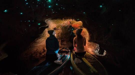 Rotorua Glowworm Stand Up Paddle Board Tour