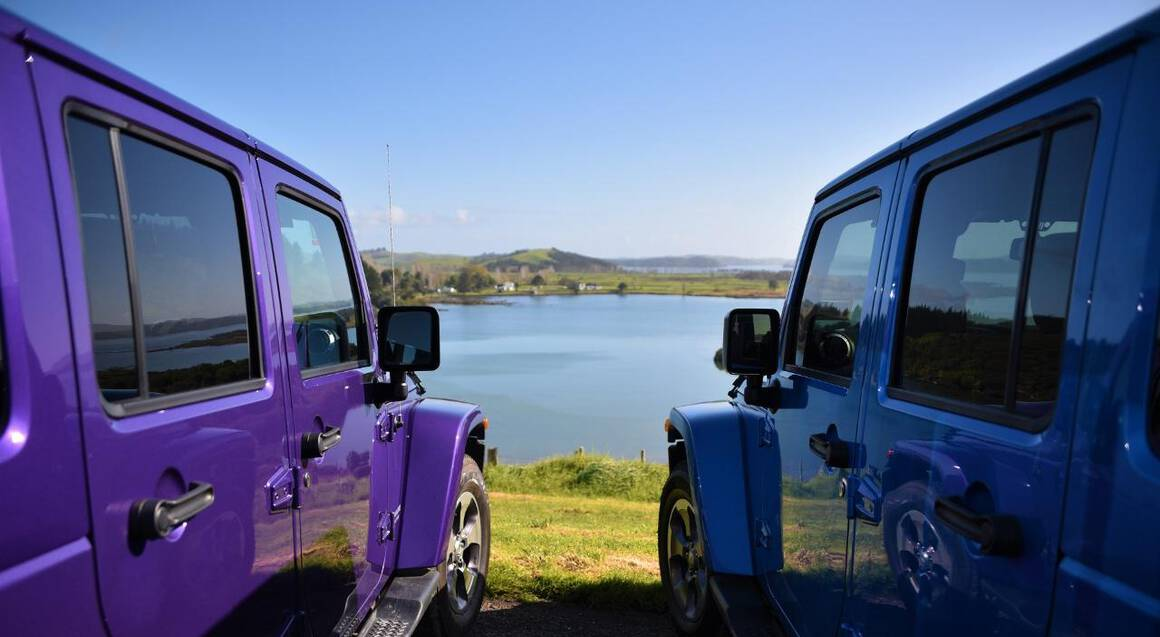 Art Safari Private Jeep Tour of the Bay of Islands