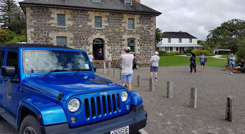 Shore Escape Private Jeep Tour of the Bay of Islands