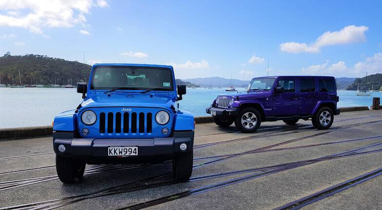 Private Jeep Tour of the Bay of Islands with Winery Lunch
