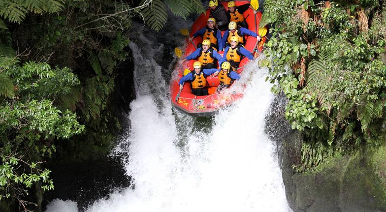 Whitewater Rafting on Kaituna River - Grade 5