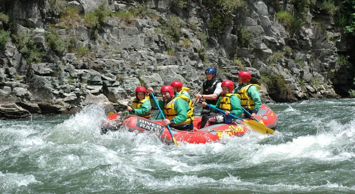 Whitewater Rafting on Lower Rangitaiki - Grade 2