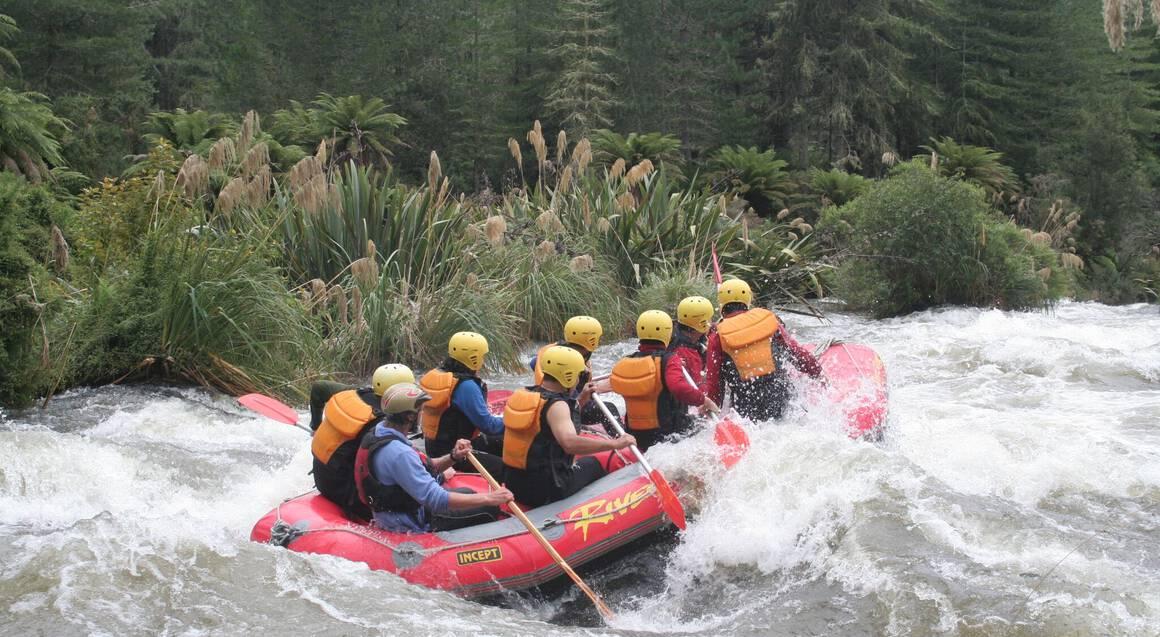 Whitewater Rafting on Rangitaiki - Grade 3-4