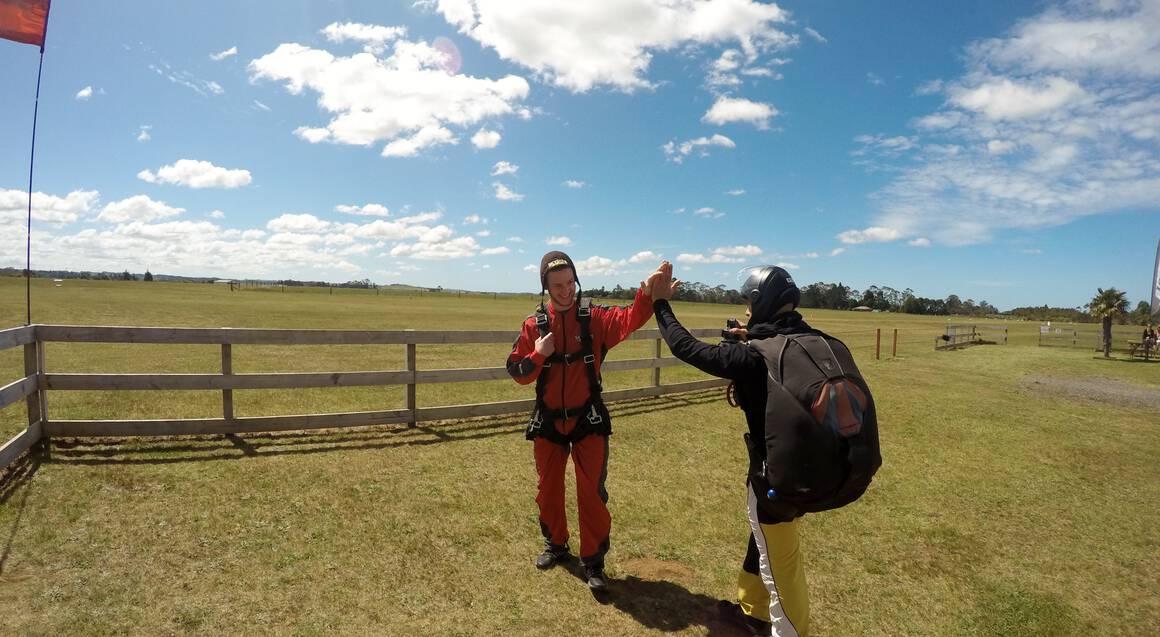 Tandem Skydive Over Bay of Islands 16,000ft