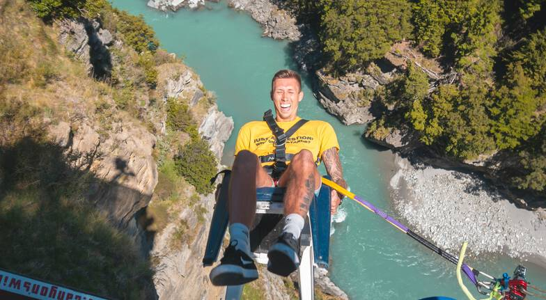Shotover Canyon Swing - Giant Rope Swing