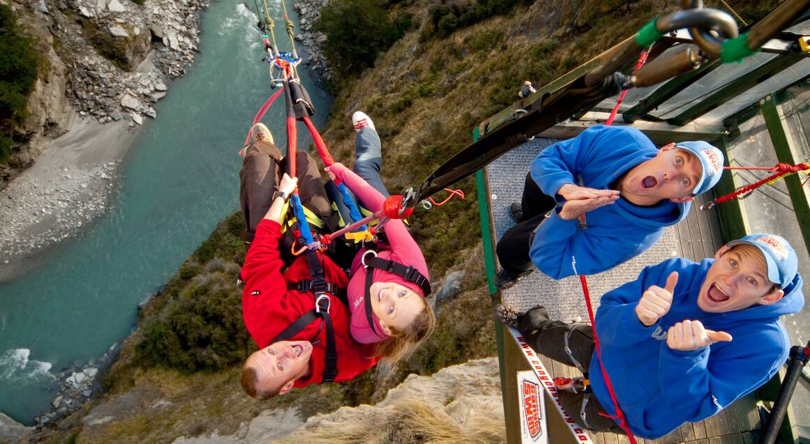 Shotover Canyon Swing Extreme Experience