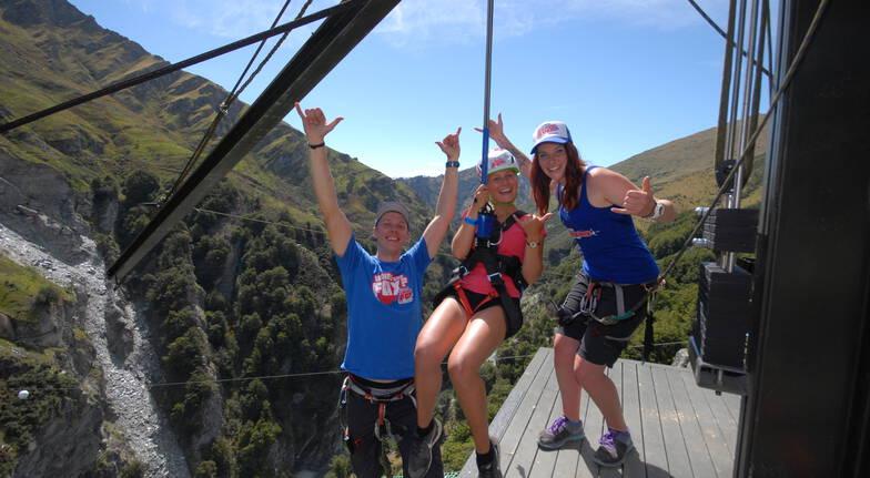 Shotover Canyon Swing and Fox Combo