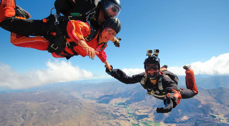 Tandem Skydive Over Wanaka - 9,000ft