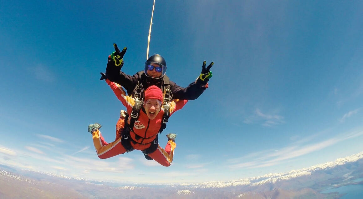 Tandem Skydive Over Wanaka - 9,000ft