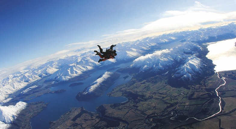 Tandem Skydive Over Wanaka - 12,000ft