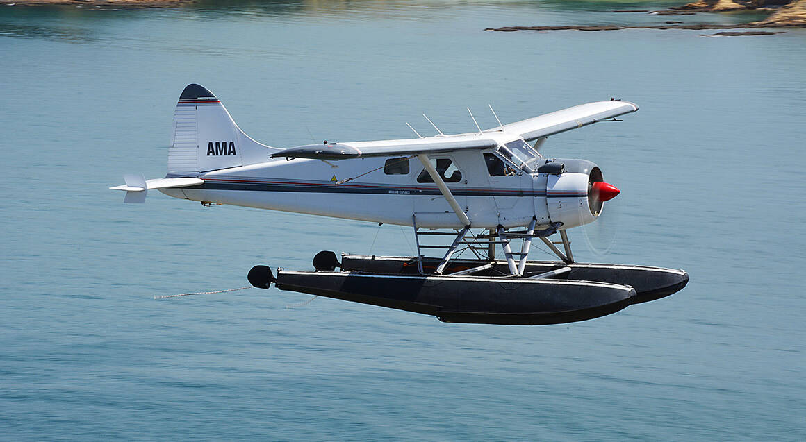 City of Sails Scenic Seaplane Flight and 2 Course Meal For 2