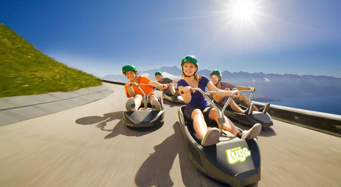 Scenic Gondola Ride over Queenstown and Luge Adventure