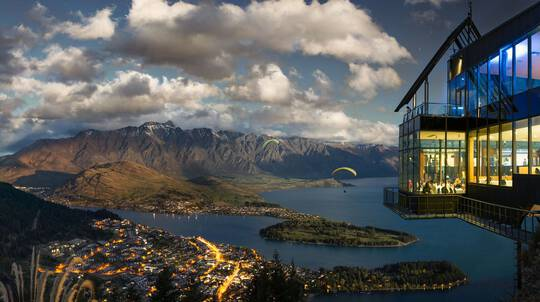 Scenic Gondola Ride over Queenstown with Buffet Dinner-For 2
