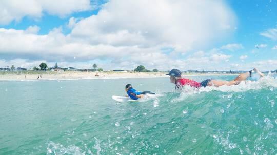 Surfing Lesson - 90 Mins - Whangamata