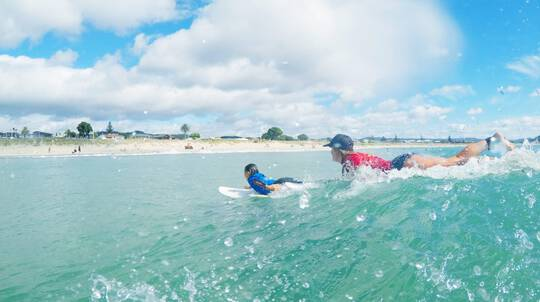 Surfing Lesson - 90 Mins - Whangamata