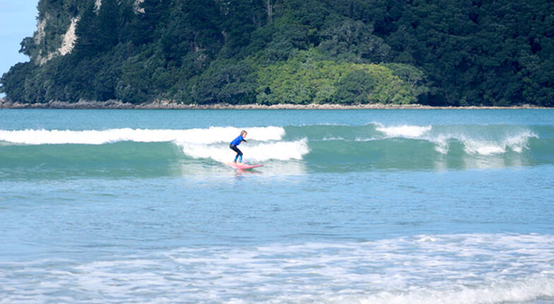 Private Surfing Lesson in Whangamata