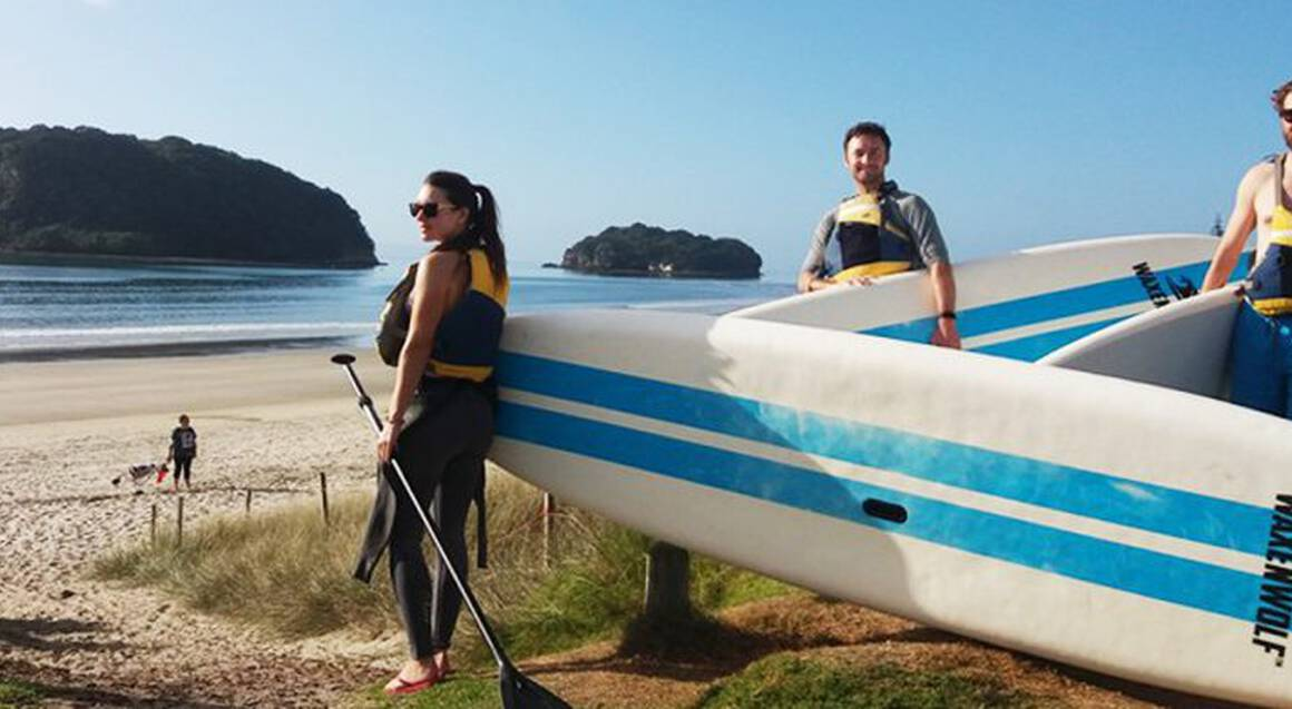 Guided Stand Up Paddleboarding Tour to Donut Island - For 2