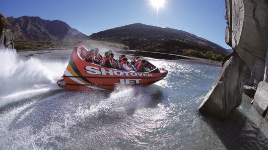 Shotover River Jet Boat Ride