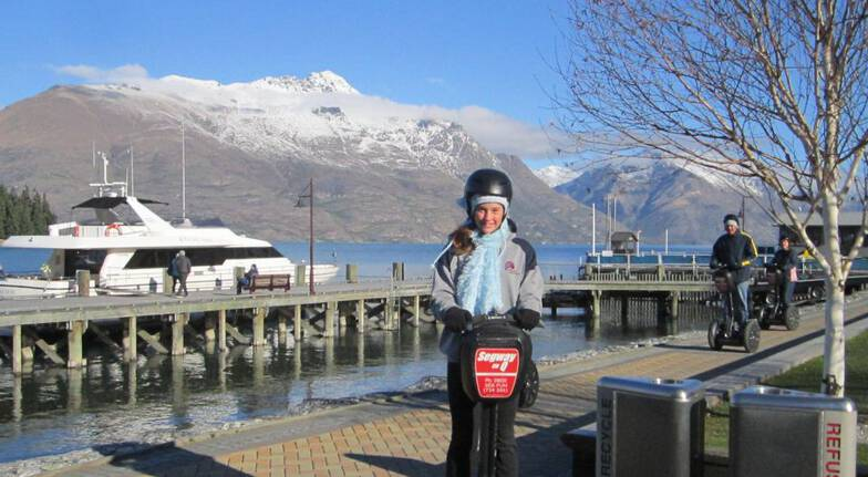 Segway Tour of Queenstown Bay - 1 Hour