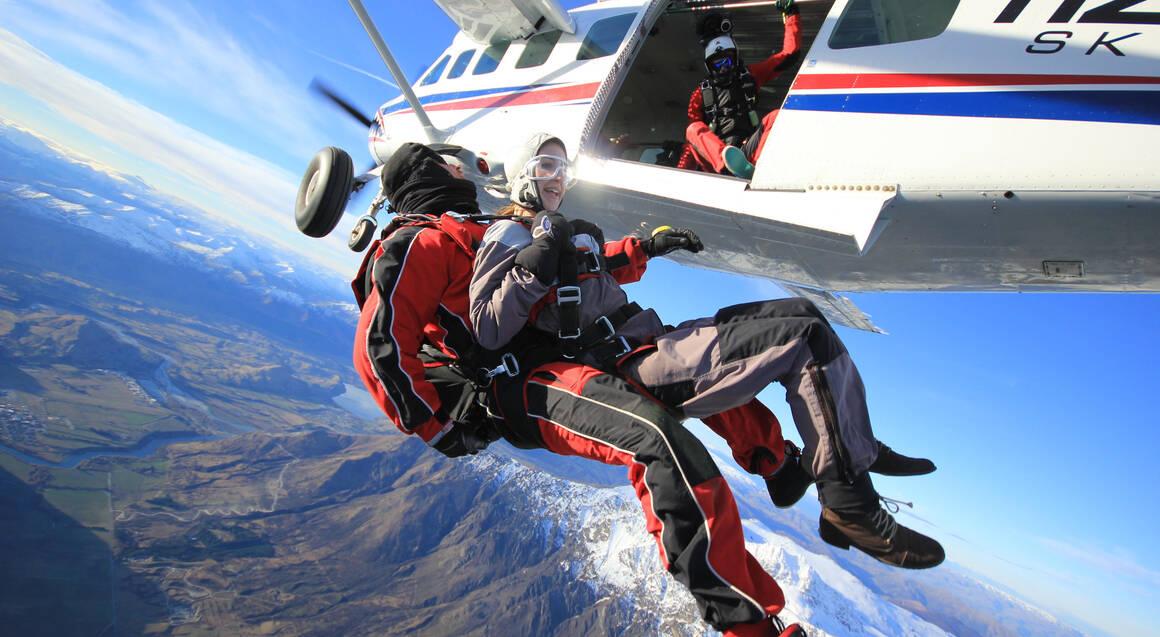 Tandem Skydive Over Queenstown - 15,000ft